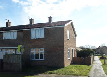 Thumbnail 3 bedroom end terrace house for sale in Skirlaw Road, Newton Aycliffe