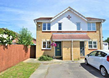 Thumbnail 2 bed semi-detached house for sale in Eltham Avenue, Cippenham, Slough