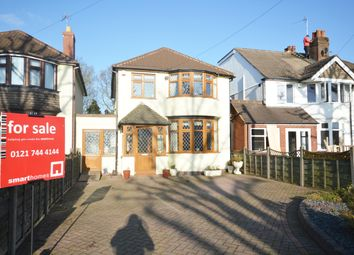 Thumbnail 3 bed detached house for sale in Delrene Road, Shirley, Solihull