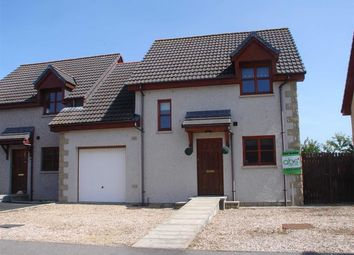 Thumbnail 3 bed end terrace house for sale in Fogwatt Lane, Elgin, Moray