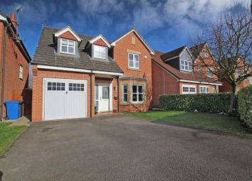 Thumbnail 4 bed detached house for sale in Carradale Grove, Chellaston, Derby
