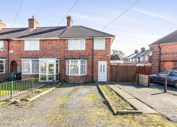 Thumbnail 3 bedroom end terrace house for sale in Gorleston Grove, Birmingham, West Midlands