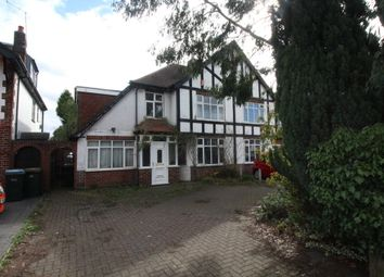 Thumbnail 4 bed semi-detached house for sale in Leamington Road, Styvechale, Coventry