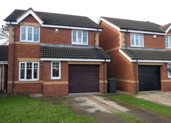 Thumbnail 3 bed detached house to rent in 15 Sandbeck Court, Rossington, Doncaster