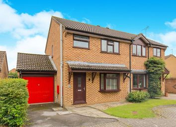 Thumbnail 3 bed semi-detached house for sale in Browning Close, Totton, Southampton