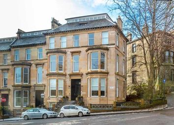 Thumbnail 2 bed flat to rent in Huntly Gardens, Glasgow