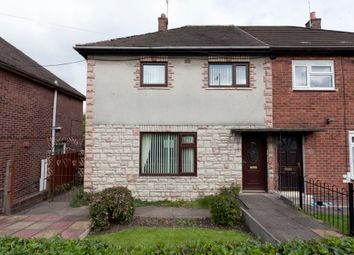 Thumbnail 3 bed semi-detached house for sale in Galloway Road, Bentilee, Stoke-On-Trent