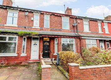 Thumbnail 3 bed terraced house for sale in Broom Lane, Manchester, Greater Manchester