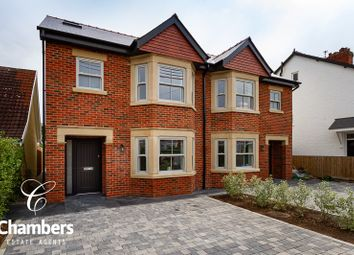 Thumbnail 4 bed semi-detached house for sale in Bishops Road, Whitchurch, Cardiff
