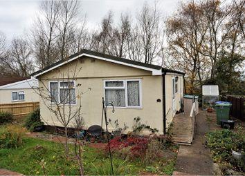 Thumbnail 2 bed property for sale in Bungalow Caravan Park, Chippenham