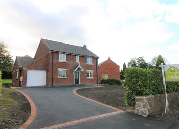 Thumbnail 4 bedroom detached house for sale in New Build, Staney Road, Stockton Brook, Stoke On Trent