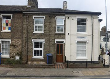 Thumbnail 2 bed terraced house to rent in High Street, Ipswich