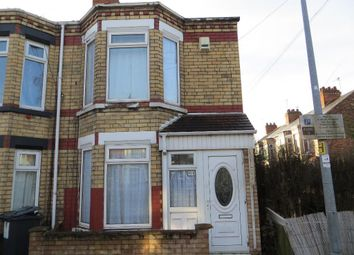 Thumbnail 2 bed end terrace house to rent in Perth Street West, Hull
