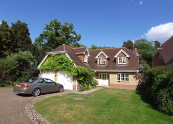 Thumbnail 4 bed detached house to rent in The Oaks, West Byfleet