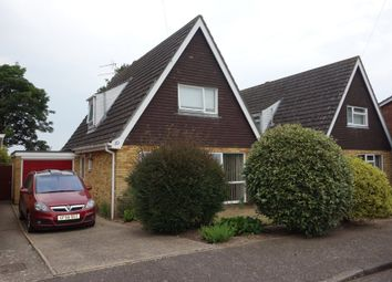 Thumbnail 3 bedroom detached bungalow for sale in Broadland Close, Worlingham, Beccles