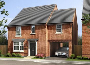 "Thumbnail 4 bed semi-detached house for sale in ""Hurst"" at Blenheim Close, Stafford"