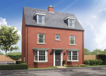 """Thumbnail 4 bedroom detached house for sale in """"Spinney"""" at Stockton Road, Long Itchington, Southam"""