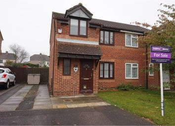 Thumbnail 3 bed semi-detached house for sale in Willowmead, West Malling