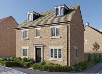 "Thumbnail 5 bedroom detached house for sale in ""The Lutyens"" at Uffington Road, Barnack, Stamford"