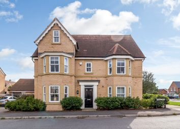 Thumbnail 6 bed detached house for sale in Devon Drive, Biggleswade, Central Bedfordshire