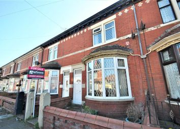 Thumbnail 3 bed terraced house for sale in Whittam Avenue, Blackpool, Lancashire