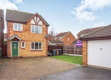 Thumbnail 3 bed detached house for sale in Worcester Close, Bracebridge Heath