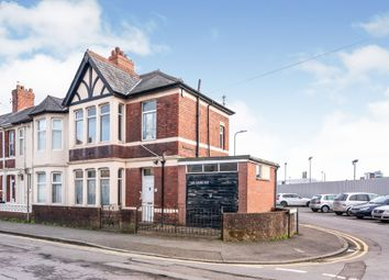 Thumbnail 3 bed end terrace house for sale in Grafton Road, Newport