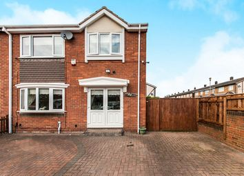 Thumbnail 3 bed semi-detached house for sale in Benfleet Avenue, Town End Farm, Sunderland