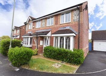Thumbnail 3 bed semi-detached house for sale in Horseshoe End, Newbury