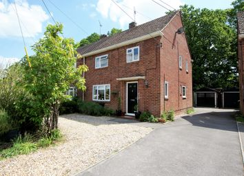 Thumbnail 3 bed semi-detached house for sale in Weir Road, Hartley Wintney, Hook
