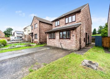 Thumbnail 3 bed detached house for sale in Davis Avenue, Bryncethin, Bridgend