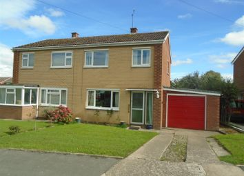 Thumbnail 3 bed semi-detached house for sale in Stretton Close, Sutton Farm, Shrewsbury