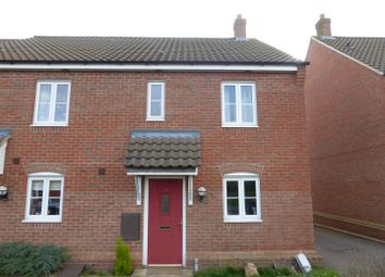 Thumbnail 2 bedroom semi-detached house for sale in Meridian Close, Hardwick, Cambridge