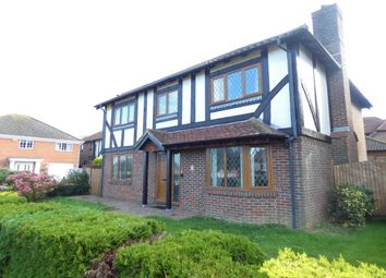 Thumbnail 4 bed detached house for sale in Green Close, Hawkinge, Folkestone