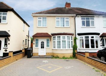Thumbnail 3 bed semi-detached house for sale in New Village, Dudley, West Midlands
