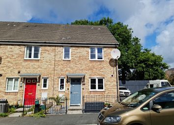 Thumbnail 3 bed end terrace house for sale in Gelli Rhedyn, Fforestfach, Swansea, City And County Of Swansea.