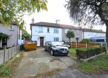Thumbnail 3 bed semi-detached house for sale in Horton Road, Staines