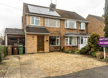 Thumbnail 3 bed semi-detached house for sale in Granville Avenue, Peterborough