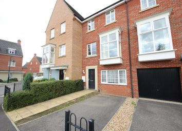 Thumbnail 4 bedroom town house for sale in Molyneux Square, Hampton Vale, Peterborough
