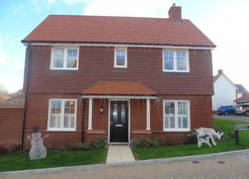Thumbnail 3 bed detached house for sale in Woolf Way, Stone Cross, Pevensey