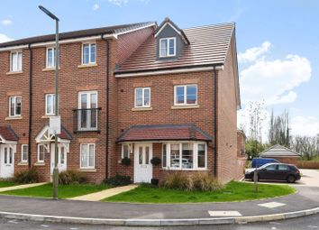 Thumbnail 4 bed end terrace house for sale in Winter Close, Epsom