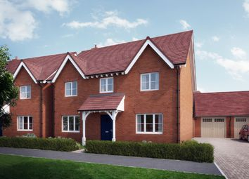 Thumbnail 4 bedroom semi-detached house for sale in William Morris Way, Tadpole Garden Village, Swindon