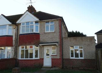 Thumbnail 2 bed flat for sale in Clarendon Road, Broadwater, Worthing