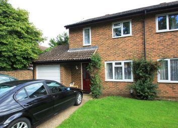 Thumbnail 3 bed property to rent in Hamble Close, Woking