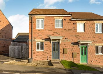 Thumbnail 2 bed semi-detached house for sale in Redmire Drive, Consett