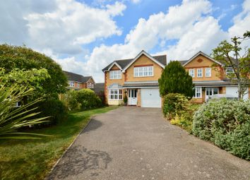 Thumbnail 4 bed detached house for sale in Michael Gardens, Gravesend