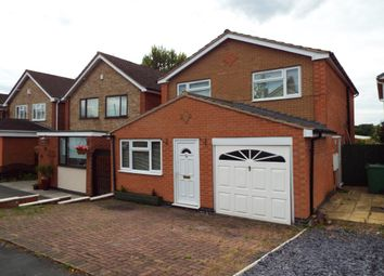 Thumbnail 4 bedroom detached house for sale in Plowman Close, Glenfield, Leicester