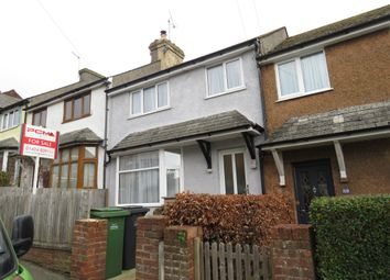 Thumbnail 3 bed terraced house for sale in Saxon Road, Hastings