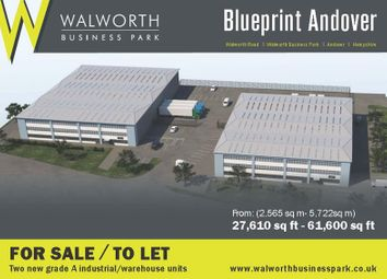 Thumbnail Warehouse for sale in Blueprint Plot 35 Walworth Business Park, Andover, Hampshire