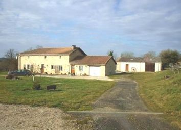 Thumbnail 4 bed property for sale in Champagne-Mouton, Charente, France